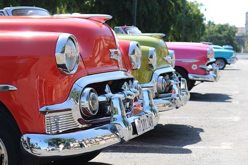 Cuba, Oldtimer, Havana, Auto, Automotive, Classic