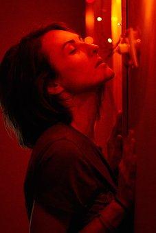 Woman, Taste, Passion, Night, Lights, Pose, Portrait