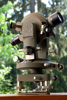 Tacheometer, Topography, Optical, Measure, Tool