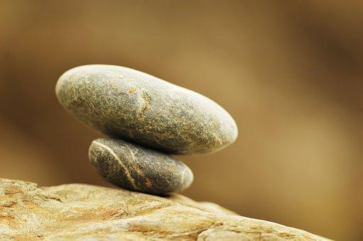 Stones, Pebbles, Formation, Stacked, Balancing, Cracks