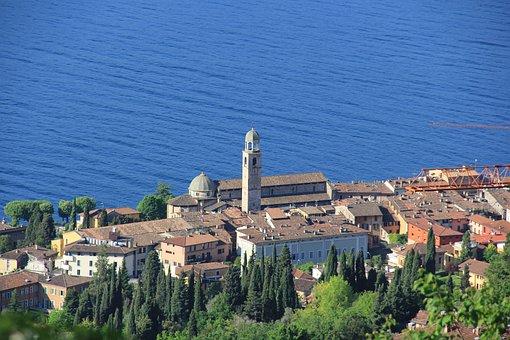 Salò, Garda, Lago, Italy, Lombardy, Brescia, Salo, Lake