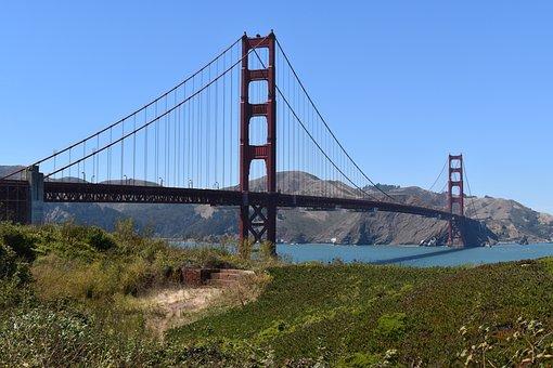 Bridge, Golden Gate, San Francisco, Sausalito