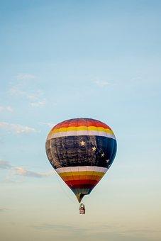 Hot Air Balloon, Festival, Sky, Air, Float, Colorful