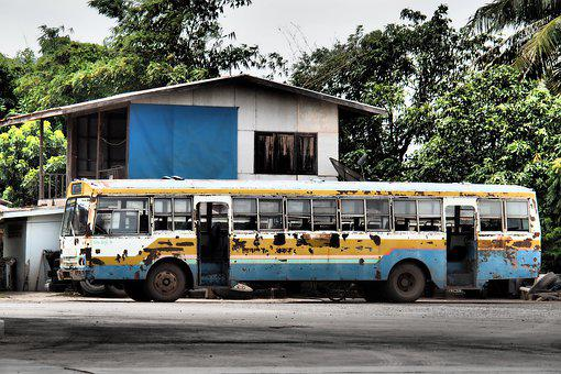 Bus, Old Bus, Old, Vehicle, The Car, Rust, Old Car
