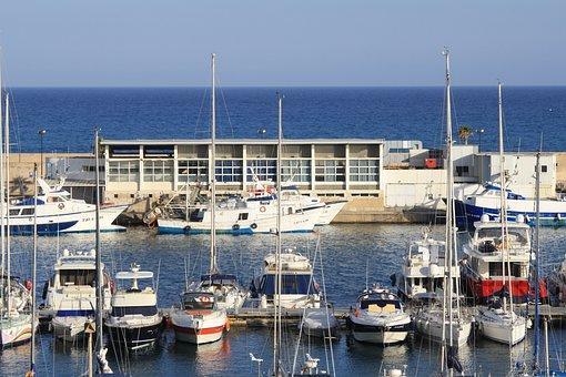 Villajoyosa, Fishing Port, Fishermen, Mediterranean