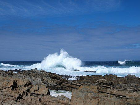 Africa, Wave, Sea, Beach, Ocean, Landscape, Water