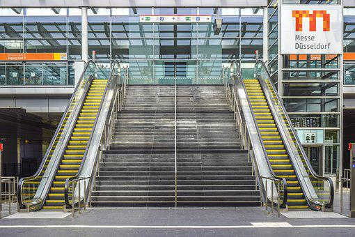 Architecture, Stairs, Building, Modern, Emergence