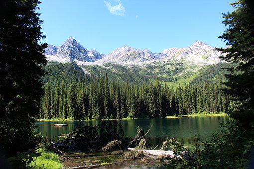 Island Lake, Fernie, British Columbia, Scenic, Water