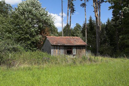 Left House, Haunted House, Abandoned, Building, Lapsed