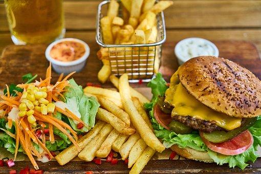 Burger, Bread, Food, Cheese, Sandwich, Cheeseburger