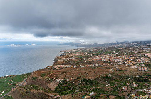 Tenerife Town, City, Clouds, Tenerife, Sky, Urban
