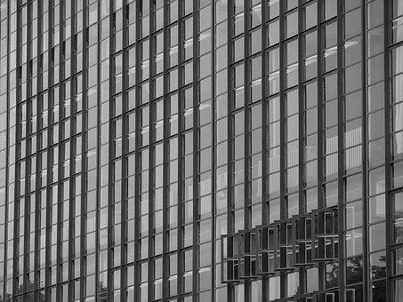 Bauhaus, Dessau, May Refer To, Window, Facade, Modern