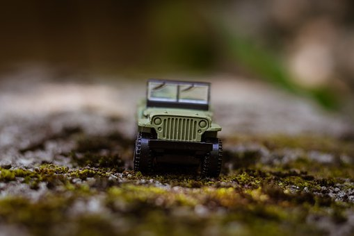 Car, Toy, Miniature, Vehicle, Toys, Outside, Outdoors