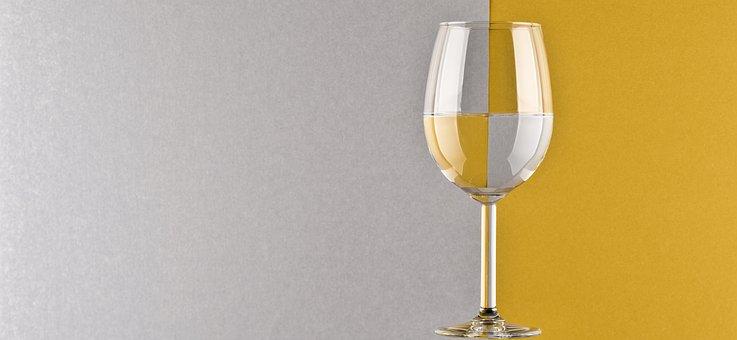 Glass, Wine, Liquid, Mirroring, Reflection, Background