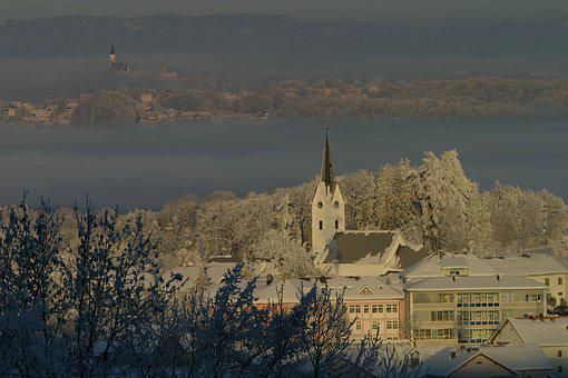 Gschwandt, Winter, Snow, Nature, Cold, Landscape