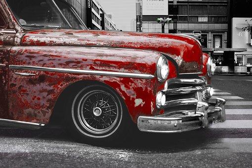Vintage, Car, Retro, Auto, Old, Vehicle, Automotive