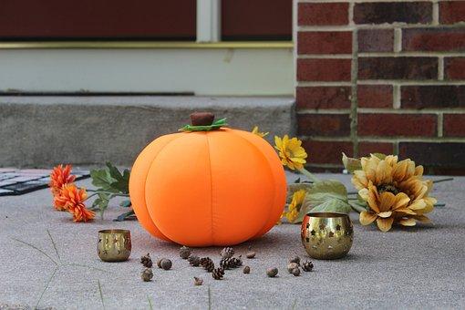 Pumpkin, Fall, Halloween, Autumn, Orange, Thanksgiving