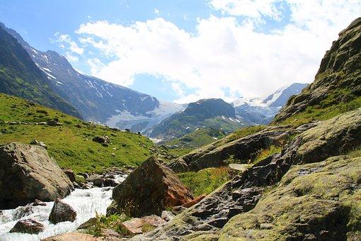 Switzerland, Susten, Mountains, Nature, Landscape, Snow