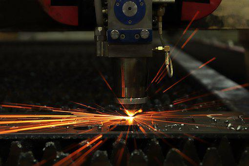 Laser, Spark, Equipment, Iron, Ray, Of Technology, Fire