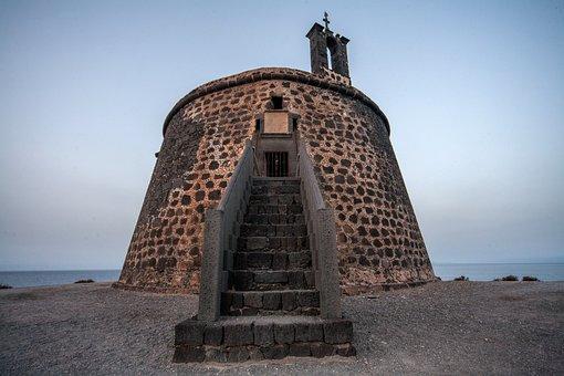 Castillo De Las Coloradas, Torre Del Aguila, Lanzarote