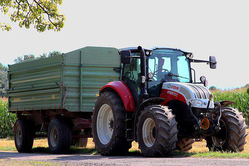 Tractor, Tractors, Agricultural Machinery, Harvest