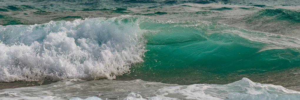 Wave, Splash, Water, Sea, Nature, Splashing, Spray