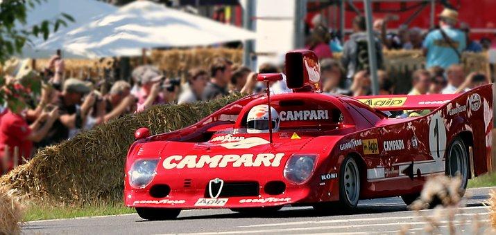 Racing Car, Alfa Romeo, Sports Car, Auto, Automotive