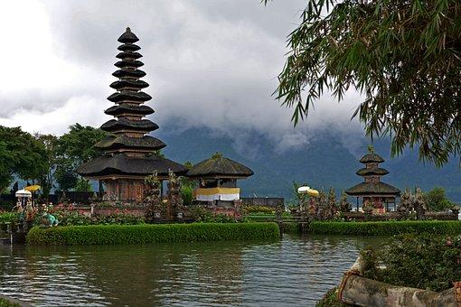 Ulun Danu, Temple, Bali, Indonesia
