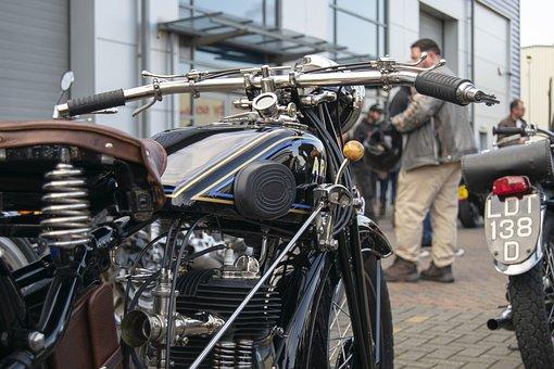 Bike, Motor Bike, Motorbike, Vintage, Transportation