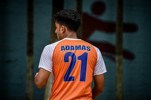 Football, Player, School, Number, Game, Boy, Hard Work