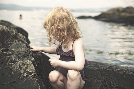 Beach, Summer, Girl, Sea, Ocean, Water, Vacation, Sand
