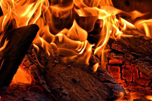 Fire, Flame, Wood, Burn, Heat, Hot, Light, Glow, Embers
