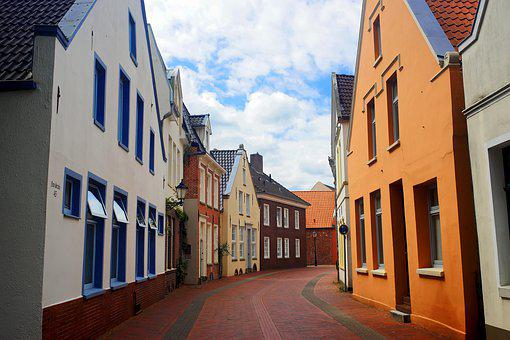 Empty, Historic Center, East Frisia, Tourism