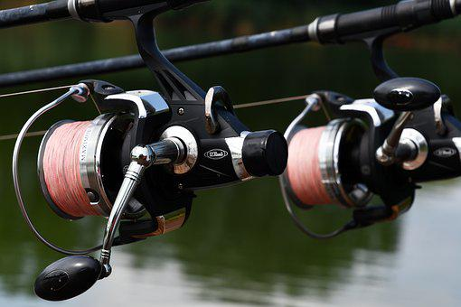 People, Fishing, Holiday, Fishing Rods, Spindle, Pink