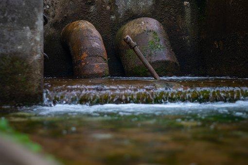 Industrial, Industry, Factory, Metal, Water, Pump, Rust