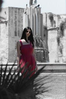 Lecce, Fountain, Colours, Fontana, Historian, Historic
