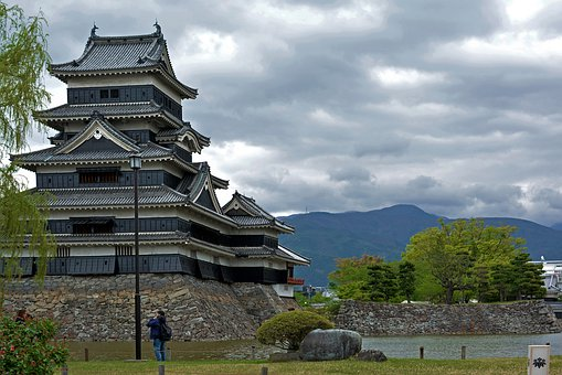Matsumoto, Castle, Japan, Nagano