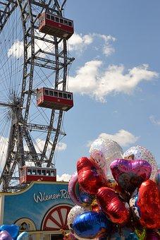 Ferris Wheel, Vienna, Prater, Attraction