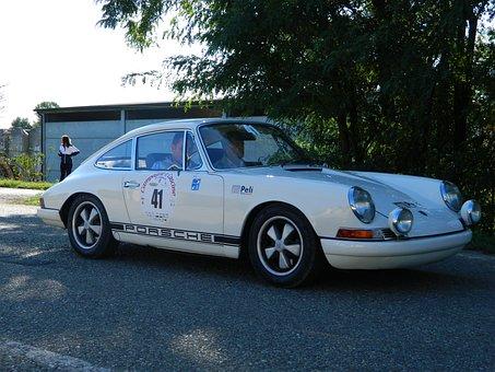 Auto, Race, Vintage Car, Sluts, 911, Fast, Speed, Sport