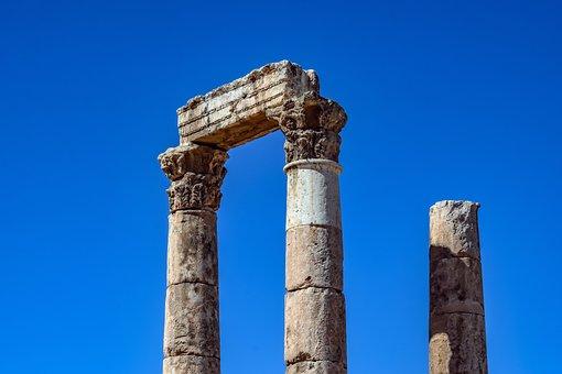 Temple Of Hercules, Historic Site, Roman Temple