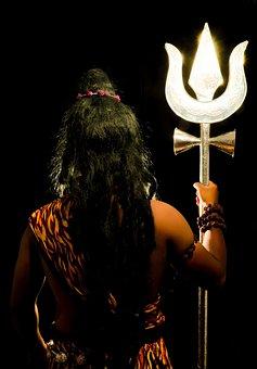 Indian, God, Shiva, India, Background, Traditional