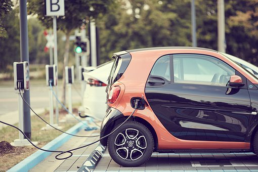 Carsharing, Electric Car, Auto, Smart, Small Car