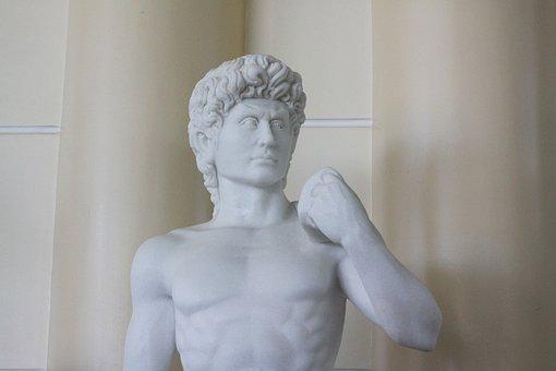 Statues, White, Ancient Greek, Art, Greek Statues