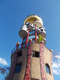 Kuchlbauer, Hundertwasser, Tower, Kuchlbauerturm