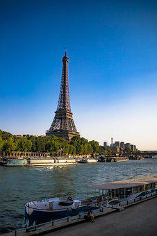 Paris, France, Urban, River, Sightseeing, Symbol