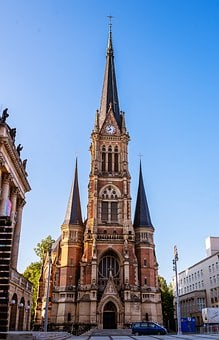 Church, Dom, Architecture, Religion, Building