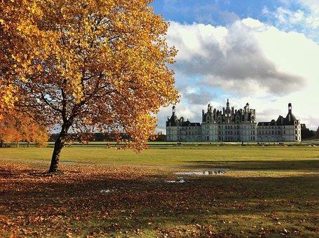 Castle, Chambord, France, Renaissance, Loire, Palace