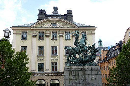 Stockholm, Sweden, City, Historic Center, Gamlastan