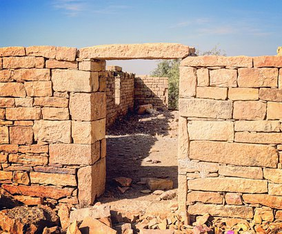 Doorway, Ruins, Architecture, Old, Ancient, Entrance