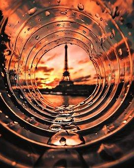 Bottle, Paris, Eiffile, Tower, Cork, Drink, Culture
